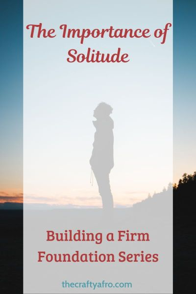 importance of solitude pin