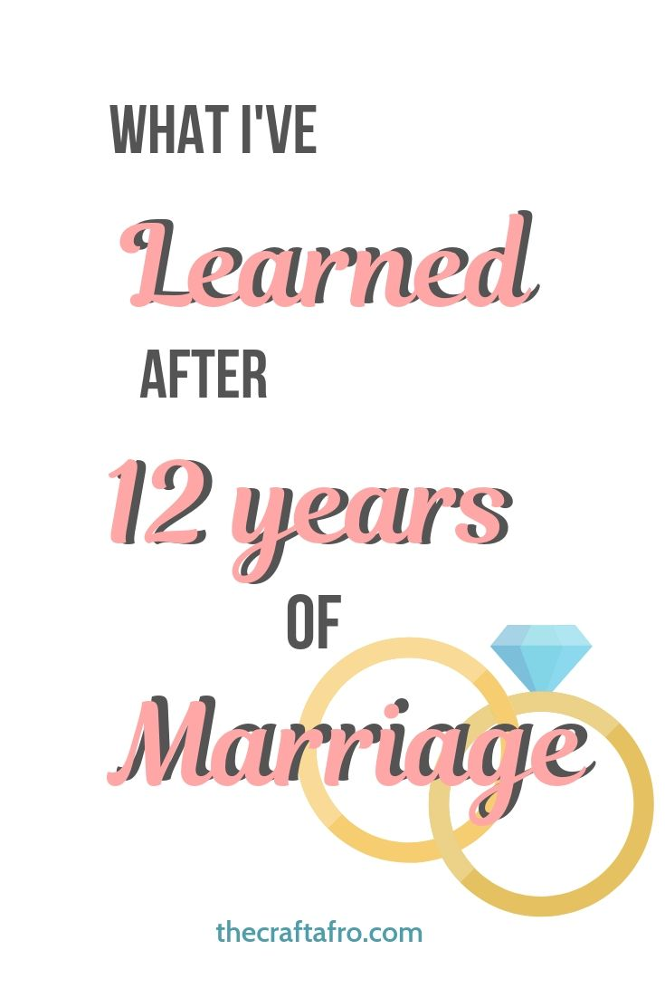 Having and maintaining a successful marriage is not easy. As someone that has been married for 12 years here's my top 12 pieces of marital advice for all married couples.