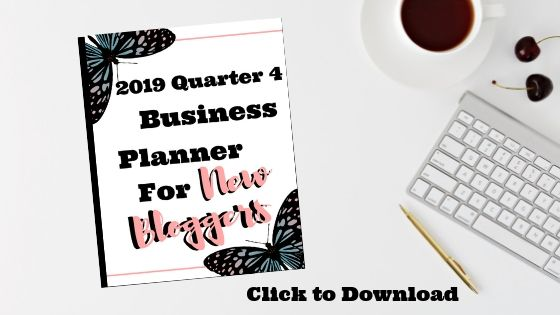 Businness planner for new bloggers.