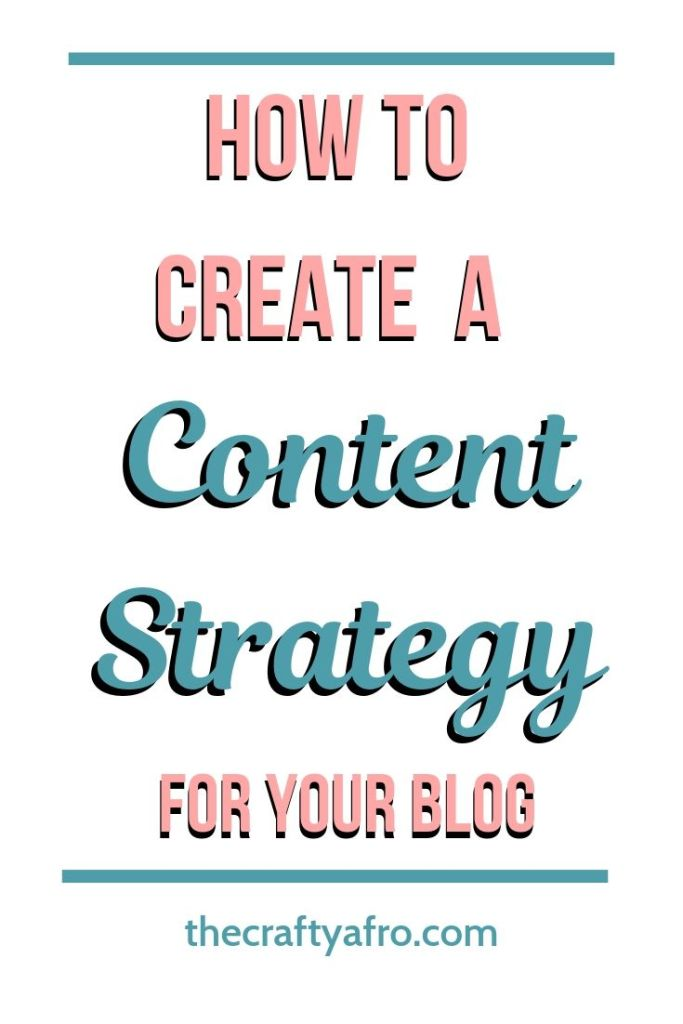 Are you getting the results you want from your blog? Do you have plan in place to help you reach your blogging goals? If not then you need to content strategy for your blog ASAP. Check out this post to find out what you need to know about creating a content strategy and how it can help grow your blog.