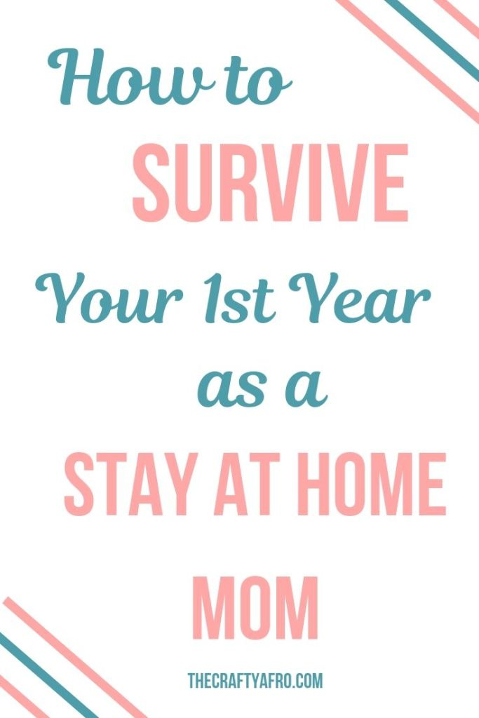 Adjusting to life as a stay at home mom can be tough. Read these 8 tips to help you survive your first year of stay at home parenting.