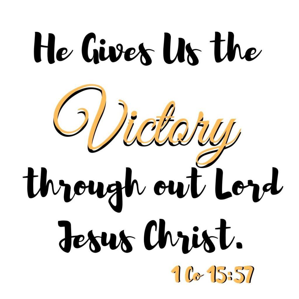 1 Corinthians 15:57