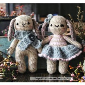 amigurumi crochet bunnies