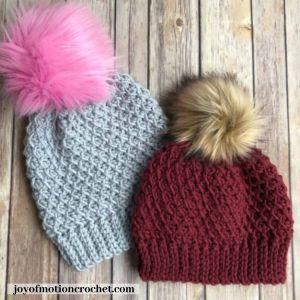 thimble crochet beanie