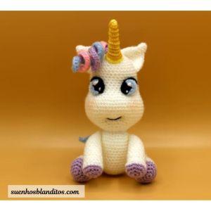Free amigurumi baby unicorn pattern