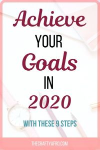 Are you tired of going around in circles every with the same goals? Use these 9 steps to help you set and achieve your goals for this year. #goalsetting #goals #newyears #resolutions#goals