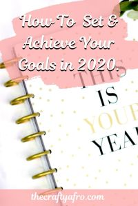 Tired of setting new years resolutions and new achieving them? Ditch the resolutions this year and use these 9 steps to set and achieve every goal you set this year.  #goals #planning #goalsetting #newyears #resolutions