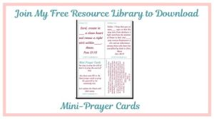 Click the image to subscribe to my free resource library.