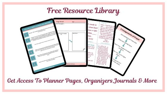 Sign-up to my join my free resource library.